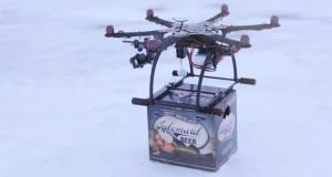 Faites vous livrer des bières par drone avec Lakemaid !