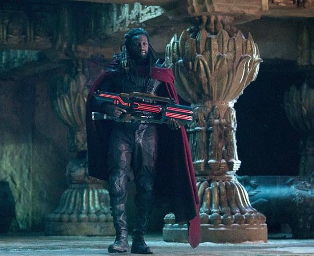 """Omar Sy dans """"X-Men : Days of Future Past"""" : nouvelle photo"""