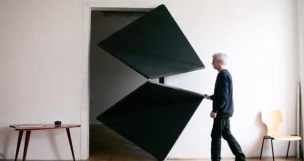 Evolution Door, la porte du futur version origami