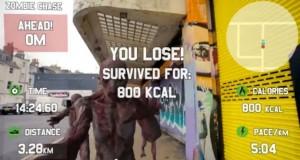 Faites votre jogging poursuivi par des zombies avec Race Yourself