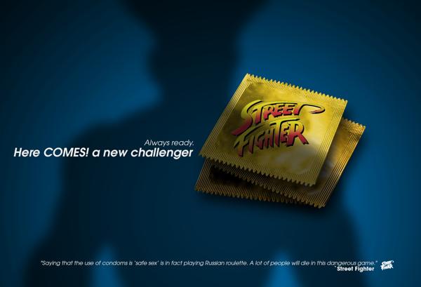 """Street Fighter - """"Toujours prêt. Voilà un nouveau challenger !"""""""