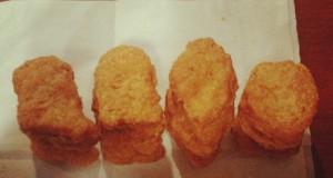 Il existe seulement 4 formes possibles de McNuggets