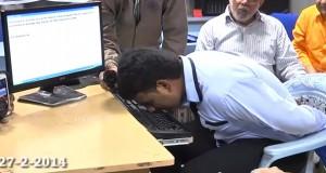 Il bat le record du monde de frappe au clavier avec le nez