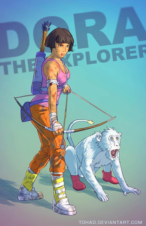 Dora l'exploratrice