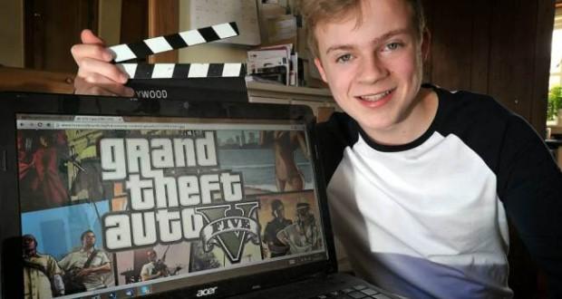Cet ado gagne près de 30000€ par an en jouant à GTA