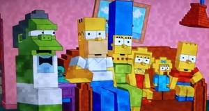 [Vidéo] Le générique des Simpson version Minecraft