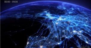 [Vidéo] Une journée de trafic aérien en Europe en images