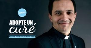 """""""Adopte un curé.com"""", la campagne décalée de l'Eglise pour appeler au don"""