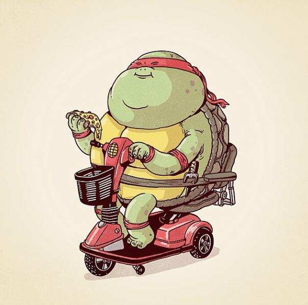 Raphael des Tortues Ninja