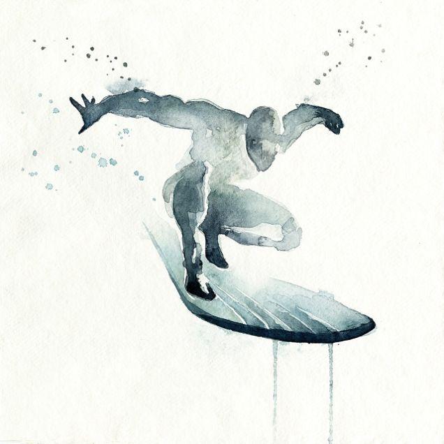 Le surfeur d'argent