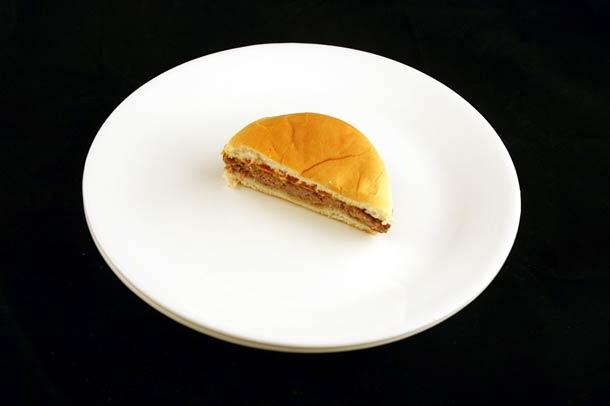 75 grammes de cheeseburger