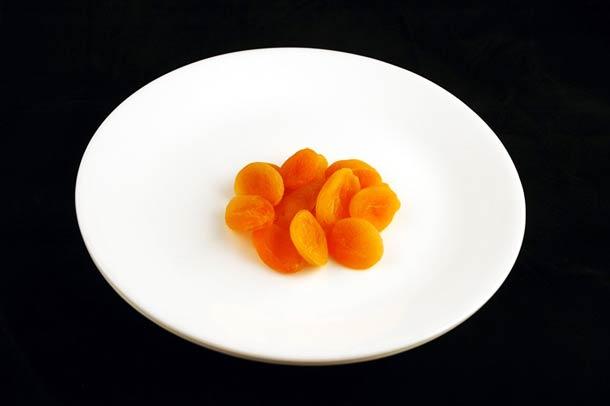 83 g d'abricots secs