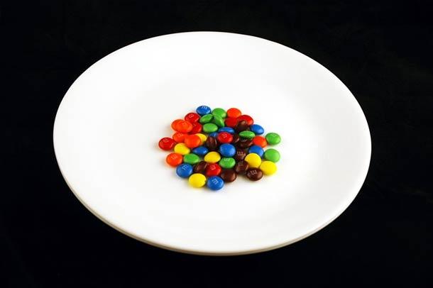 40 g de bonbons M&M's