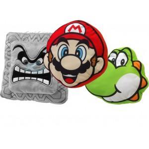 Des coussins Mario Bros