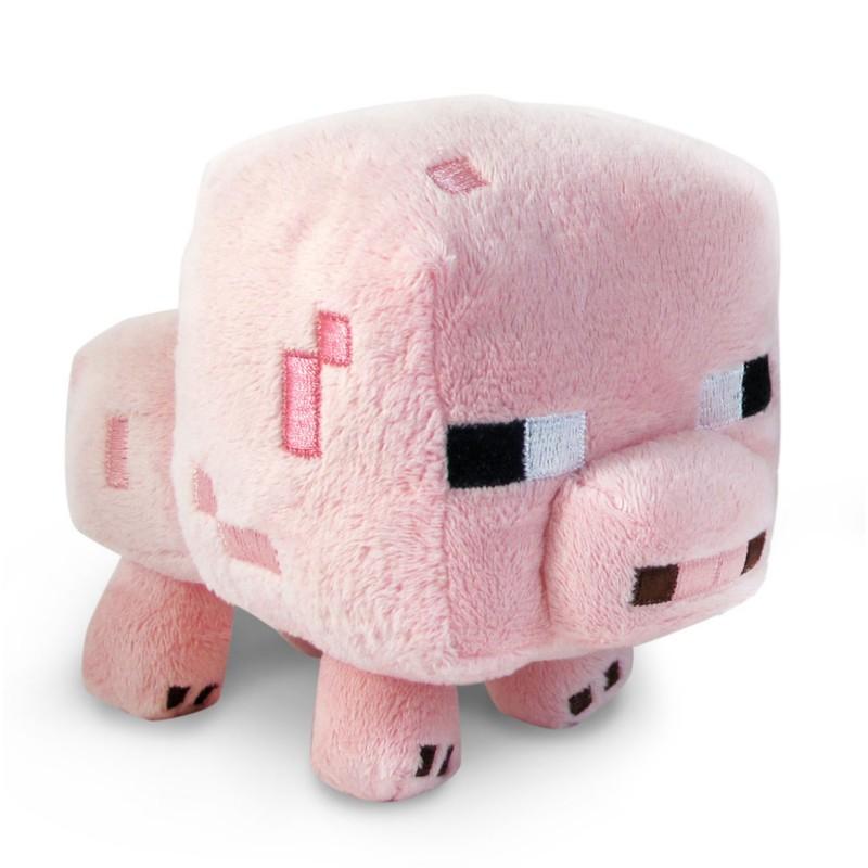La peluche cochon Minecraft