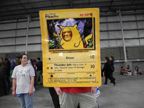 Carte Pikachu
