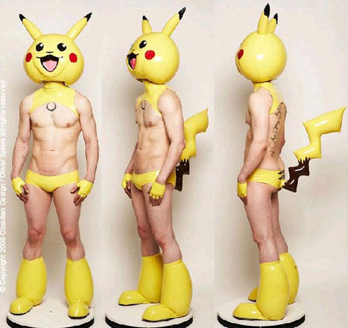 Pikachu version SM...