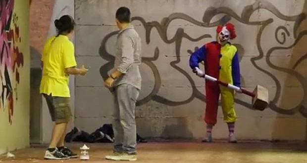 [Vidéo] Le retour du clown tueur en caméra cachée