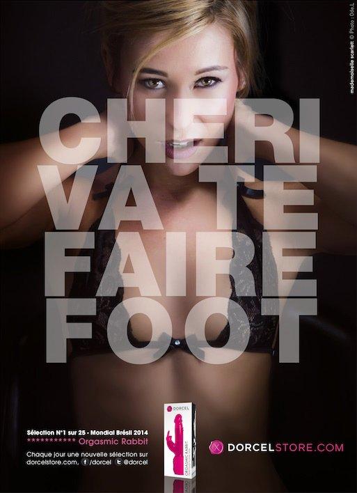 """""""Va te faire FOOT !"""", la nouvelle campagne de Marc Dorcel pour le mondial"""