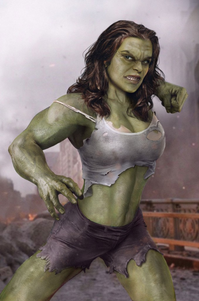 Rachel Weisz / Hulk