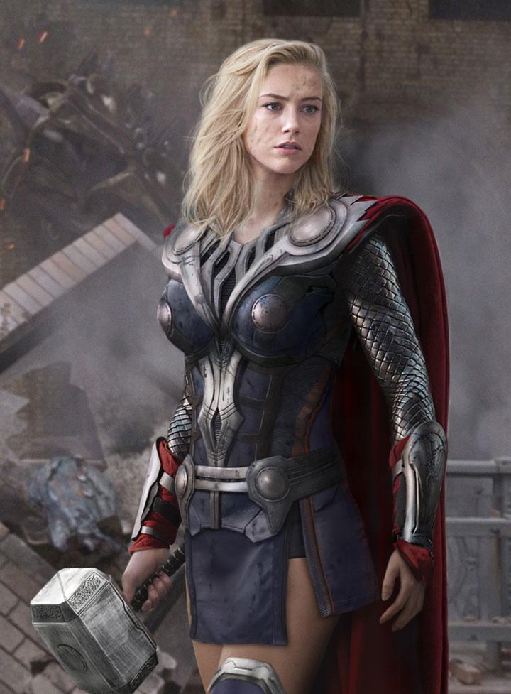 Amber Heard / Thor
