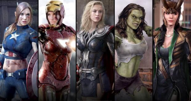 Et si les Avengers étaient des femmes?