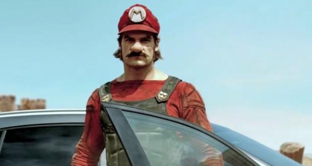 [Vidéo] Mario conduit une Mercedes pour une publicité