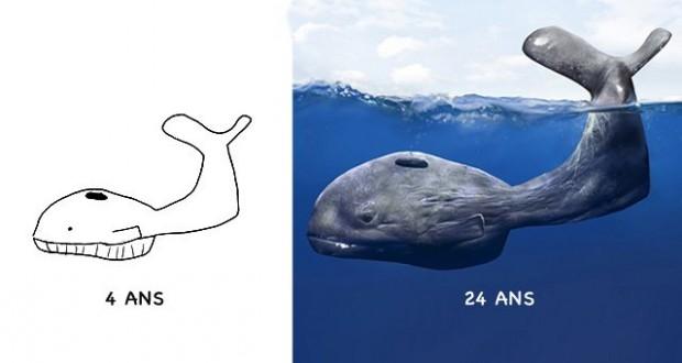 Un artiste réinvente ses dessins d'enfance 20 ans plus tard