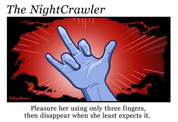 """Façon Diablo - """"Faites lui plaisir avec seulement trois doigts, puis disparaissez quand elle s'y attend le moins."""""""