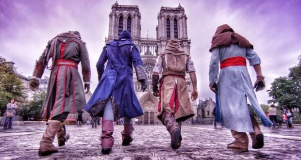 [Vidéo] Assassin's Creed Unity en mode parkour à Paris