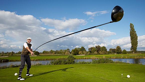 vid o record le plus long club de golf utilisable du monde. Black Bedroom Furniture Sets. Home Design Ideas