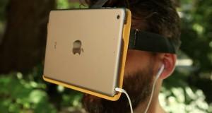Transformer en Ipad en lunette de réalité virtuelle