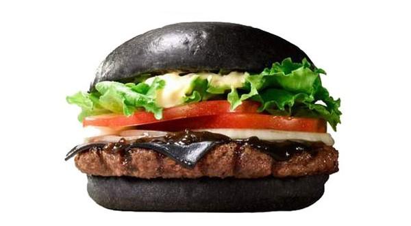 Cuisine insolite : un burger noir chez Burger King