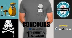Concours : le T-shirt geek de votre choix à gagner