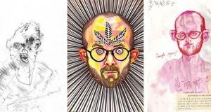 Il réalise son autoportrait sous l'emprise de différentes drogues