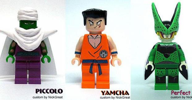 Un fan crée les personnages de Dragon Ball Z en LEGO