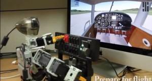 Pibot, le robot capable de piloter un avion
