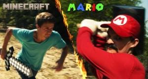 [Vidéo] La rencontre épique entre Mario et Steve de Minecraft