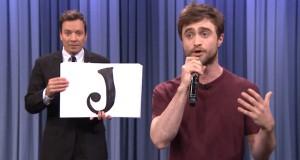 [Vidéo] Daniel Radcliffe aka Harry Potter rappe l'alphabet