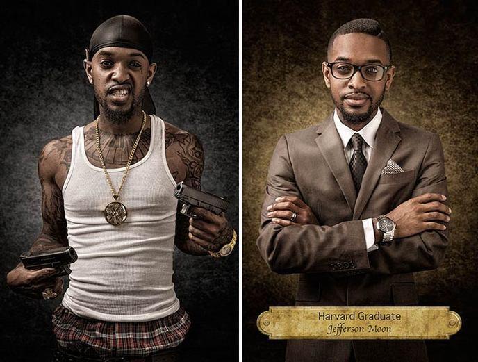 Gangster ou diplômé de Harvard ?