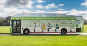 Bio-Bus, le véhicule qui roule au caca
