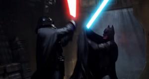 [Vidéo] Quand Batman défie Dark Vador...