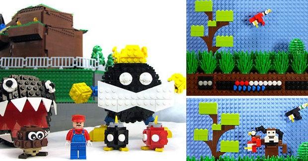 20 univers de jeux vidéo recréés en LEGO