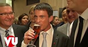 [Vidéo] Valls bourré au salon de l'agriculture?