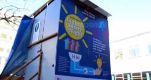 Éclairer des WC avec de l'urine : un nouveau test de l'Université de Bristol !
