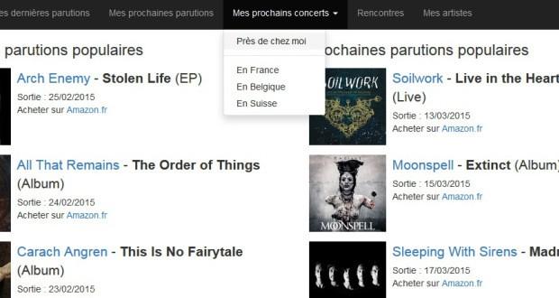 Vos notifications musicales personnalisées sur Funkee.fr