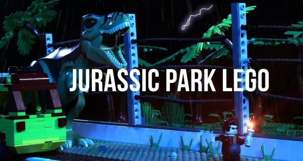 [Vidéo] Jurassic Park en LEGO : 100 000 dollars de briques utilisées