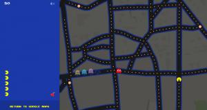 Jouez à Pac-Man dans votre quartier sur Google Maps