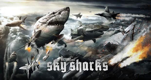 [Vidéo] Sky Sharks, quand des zombies nazis attaquent un avion sur des requins volants