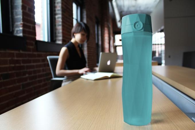 HidrateMe, une bouteille connectée qui vous dit quand vous devriez boire